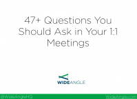 47 Questions for Your 1 on 1